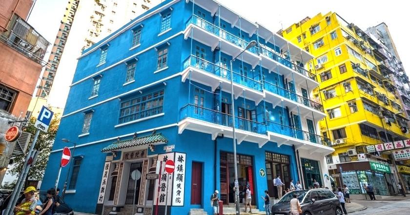 What's Inside Hong Kong's Blue House?