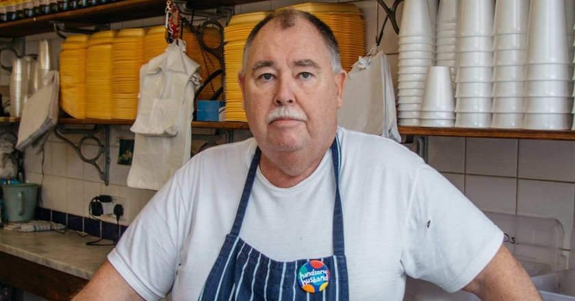 Meet the East London Legend Serving Up a Secret Language With His Pie and Mash