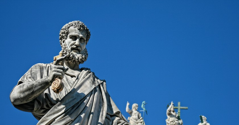 St Peter and the key to heaven at the Vatican | © DomyD/Pixabay