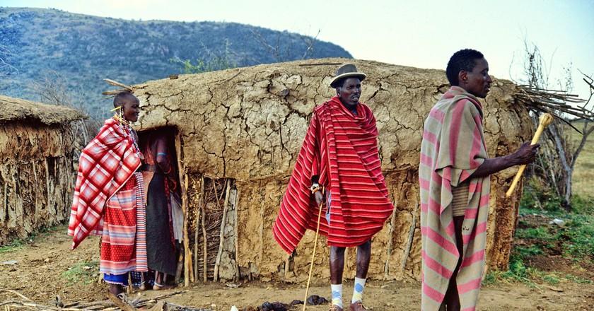A traditional Masaai hut   © gin/Pixabay