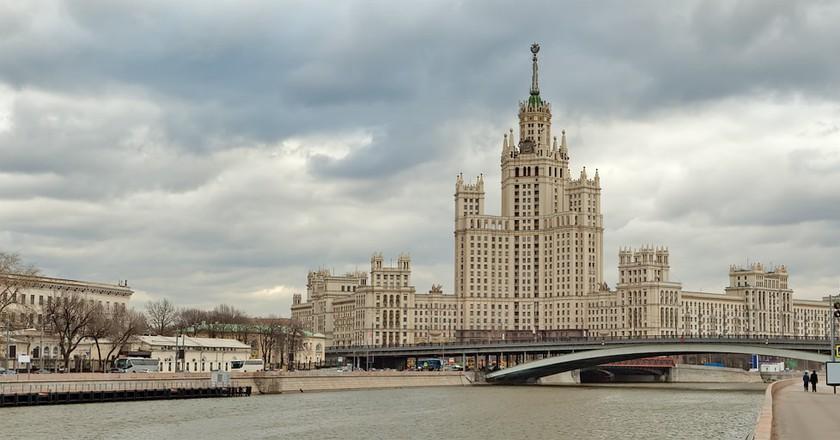 Kotelnicheskaya Embankment Building  © Own Work/Wikimedia Commons