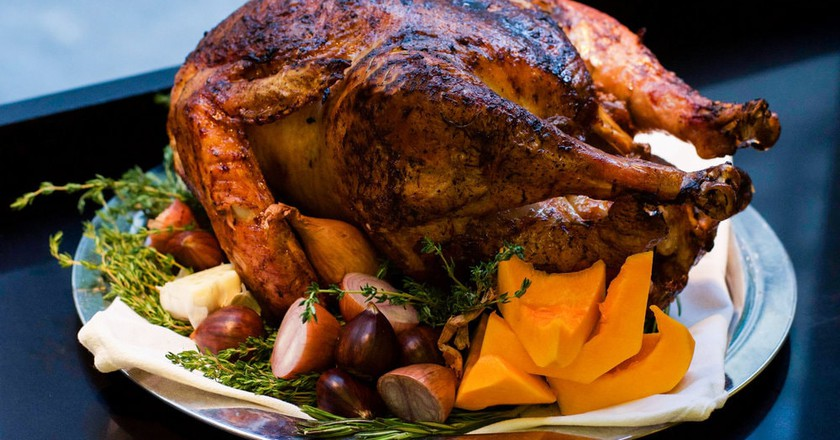 Le Coq Rico's Thanksgiving turkey