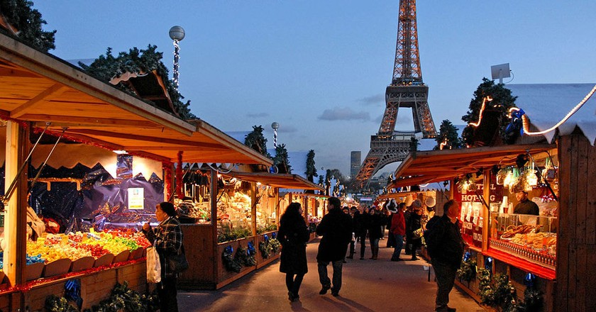 Paris' Christmas Market |© Wikimedia Commons