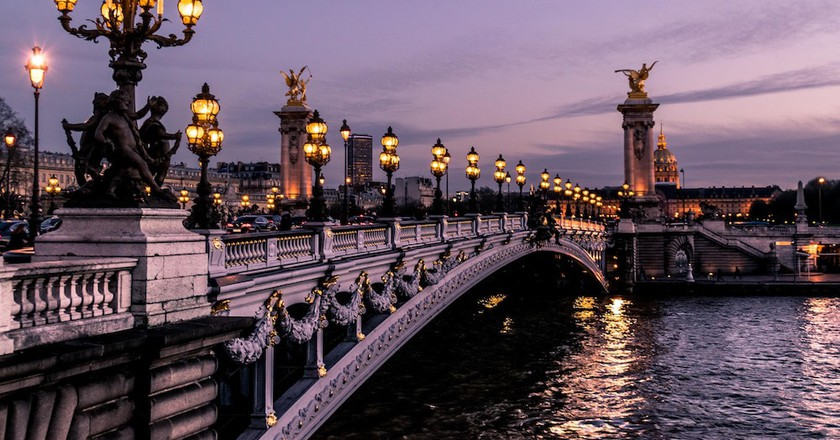 Parisian bridge  | © Léonard Cotte