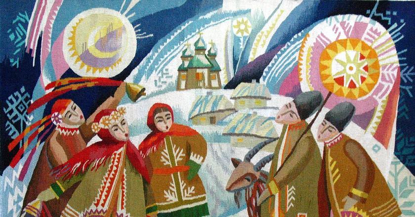 """Kolyada"" by Olga Pilyuhina   © S.g.freelancer/WikiCommons"