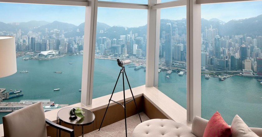 Spectacular views come at a high price | Courtesy of Ritz-Carlton Hong Kong