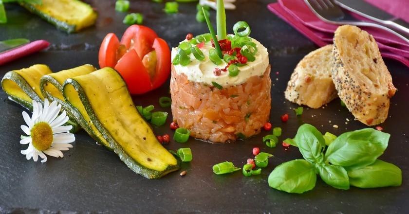Salmon Tartare   © RitaE / Pixabay