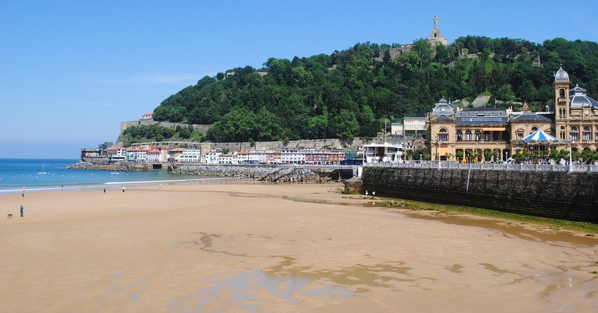 Visit the city of San Sebastian, Spain