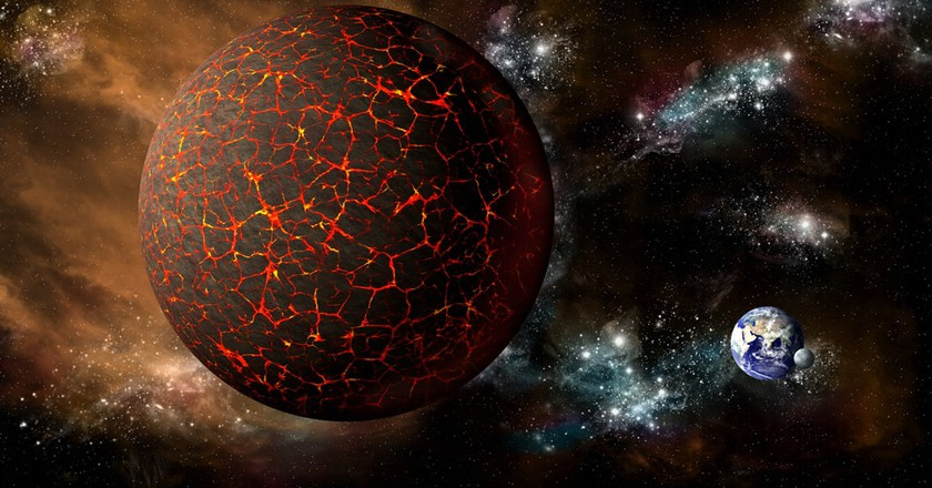 The stellar body of Nibiru or Planet X which some people say is causing the avalanches in France |© Marc Ward / Shutterstock