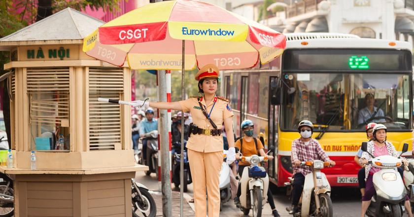 Police officer in Hanoi, Vietnam   © Cocos Bounty / Shutterstock