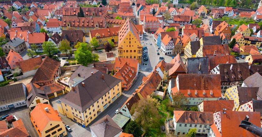View of Nördlingen from St Georgs Church | © Elena Kharichkina/Shutterstock