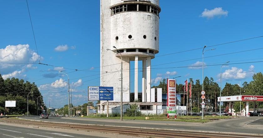 Old Water Tower, Yekaterinburg | ©Mikhail Markovskiy/Shutterstock