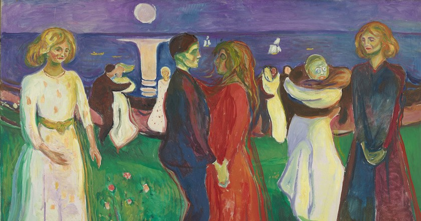 Edvard Munch 'The Dance of Life', 1925