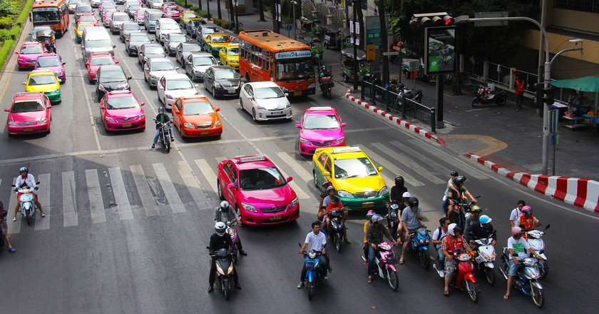 How To Take a Taxi in Thailand