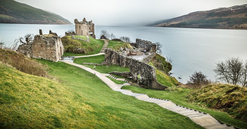Urquhart Castle, Loch Ness, Inverness, Scotland, United Kingdom | © Giuseppe Milo/Flickr