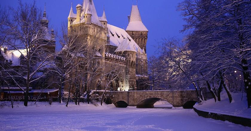 Vajdahunyad Castle | © Szvitek Péter/Wikimedia Commons