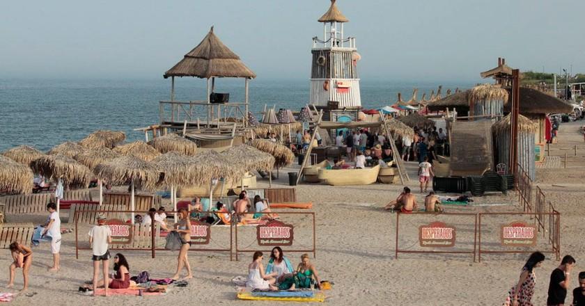 The popular resort of Vama Veche © Georgeta Gheorghe