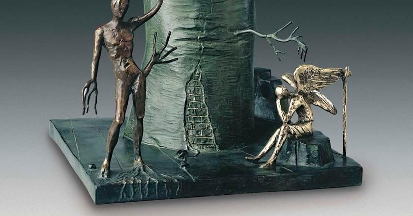 Salvador Dalí, Vision of the Angel (detail) 1977-1984   © IAR Art Resources