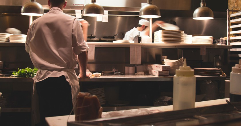 Chefs at work   © Michael Browning/Unsplash