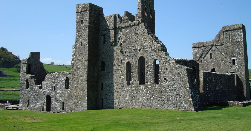 Fore Abbey   © John Armargh/ Wikicommons