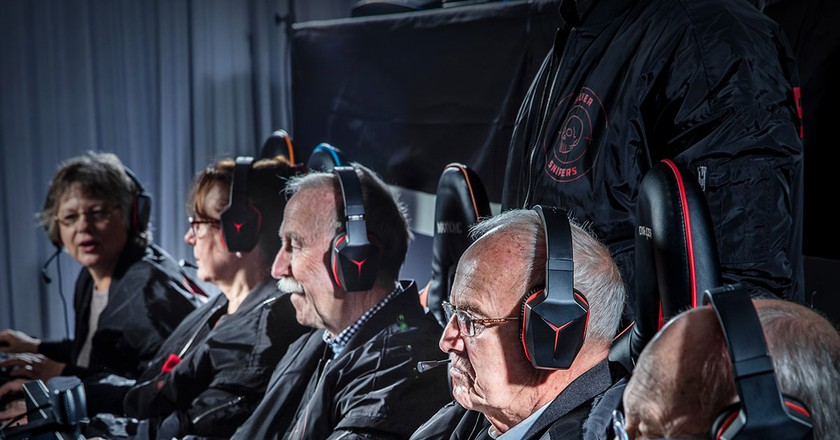 The Silver Snipers in training | Courtesy Lenovo