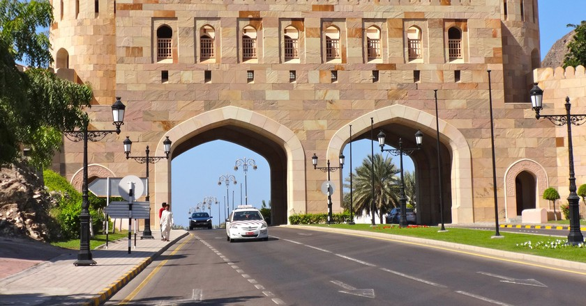 Gatehouse, Muscat © Jean and Nathalie/Flickr