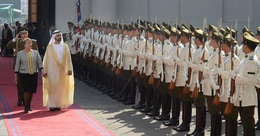 His Royal Highness, Sheikh Mohammed bin Rashid Al Maktoum of Dubai | © Gobierno de Chile/Flickr