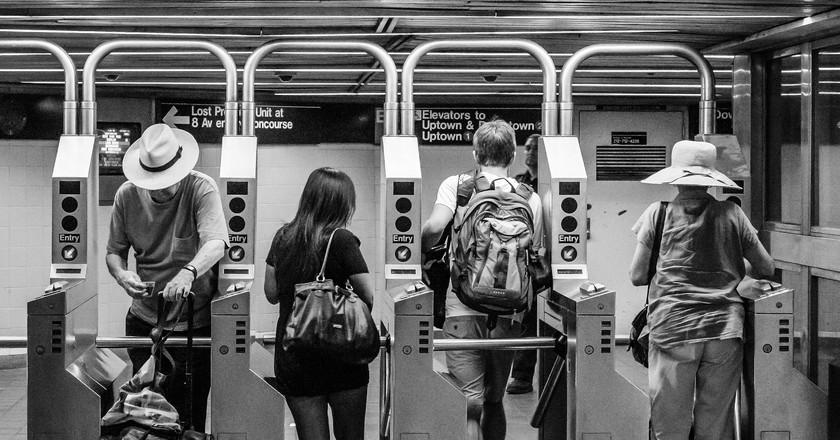 NYC Subway Riders