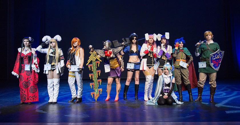 Cosplayers at Yukicon 2014 | © Matias Tukiainen / WikiCommons