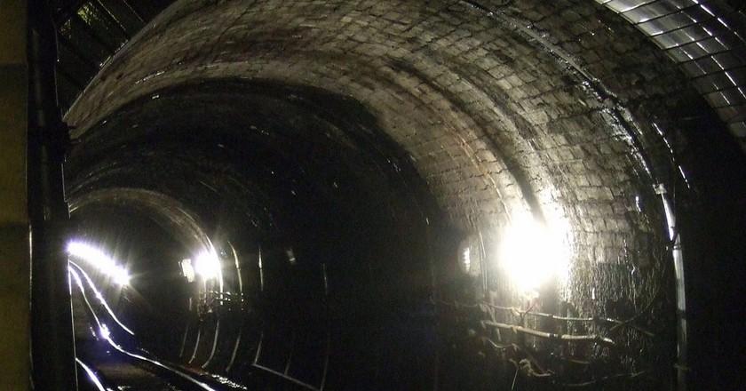 The Glasgow subway tunnels   © James Cridland/Flickr