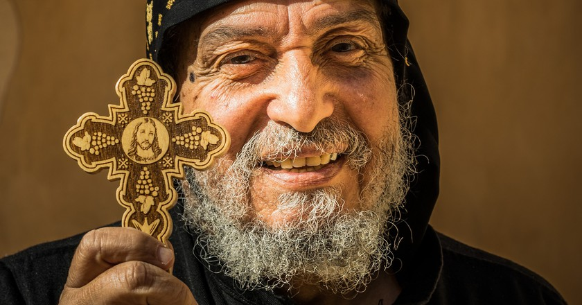 An Egyptian Coptic Christian | © Mark Fischer/Flickr