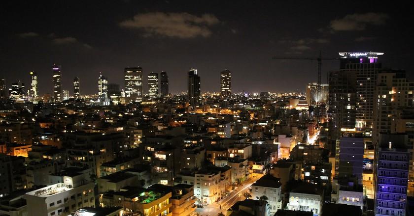 Tel Aviv by Night   © Eduard Marmet/Flickr