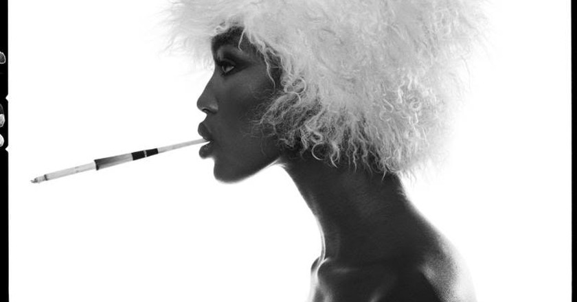 Naomi Campbell by Michel Comte | © Harry Sach on Flickr