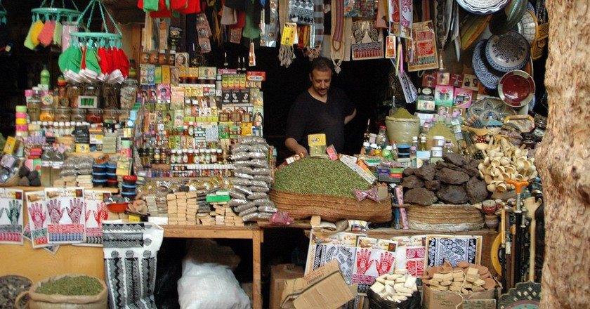 A local beauty store in Fez, Morocco |