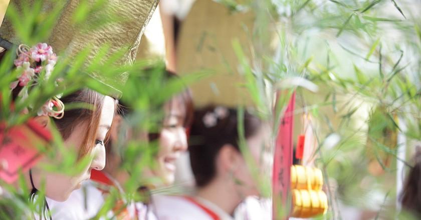 Fukusasa bring luck to businesses | © MIXTRIBE / Flickr