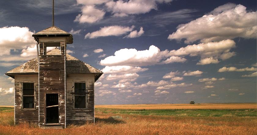 Abandoned School Fresno | © Robert Cassway
