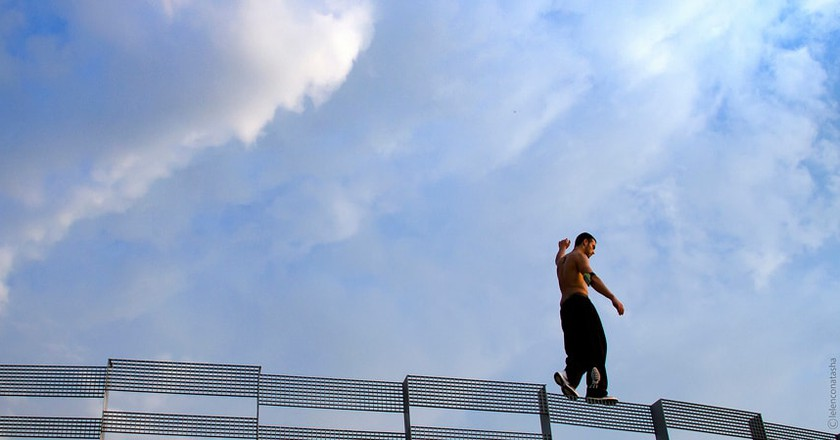 The cityscape is your obstacle course | © NATASHA LELENCO/Flickr