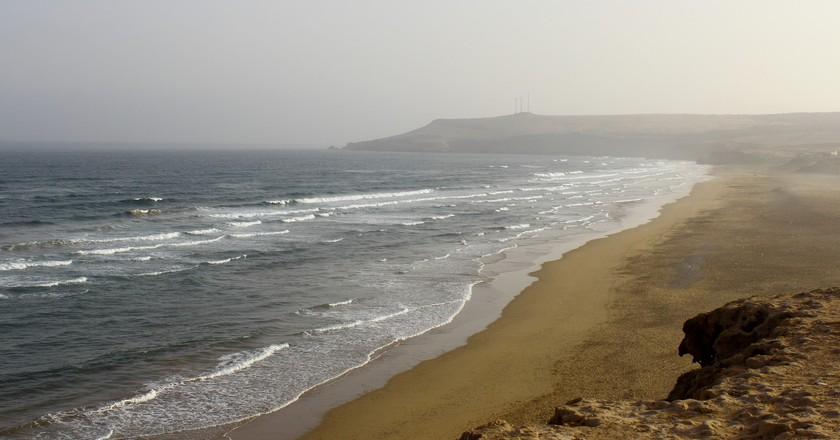 Deserted morning sands in Agadir | © Valentina_Pova/Flickr