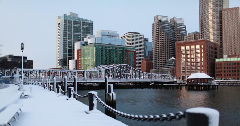 Winter Skyline, Boston | © Massachusetts Office of Travel and Tourism / Flickr