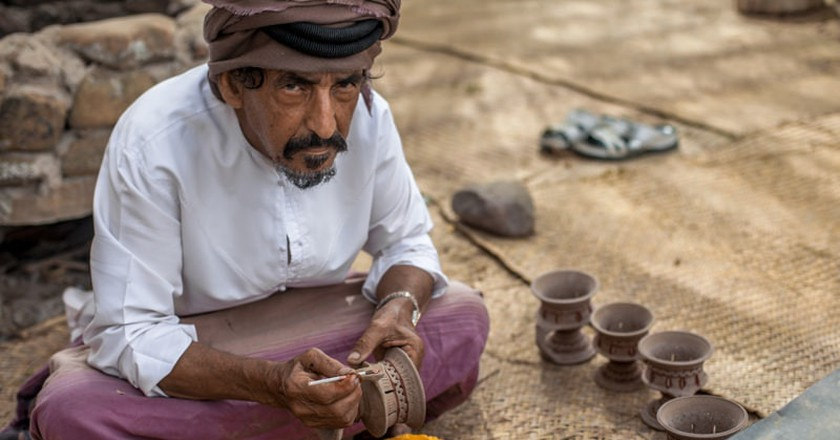 Many pottery tactics were shared between India and the UAE during ancient trading | © Srdjan Jovanovic/Flickr