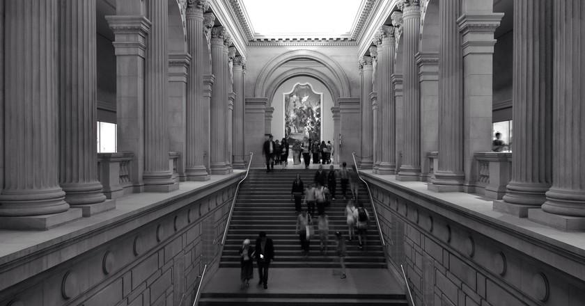 Grand Staircase, Metropolitan Museum of Art | © Ralph Hockens/Flickr