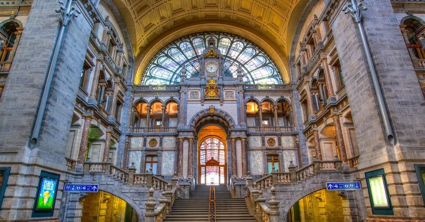 Antwerp Centraal Station |© Skitterphoto/Pixabay