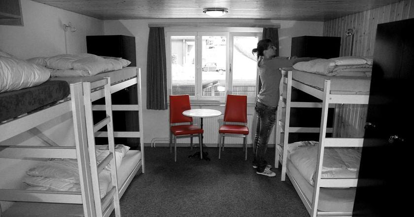 Hostel Room | © Pixabay