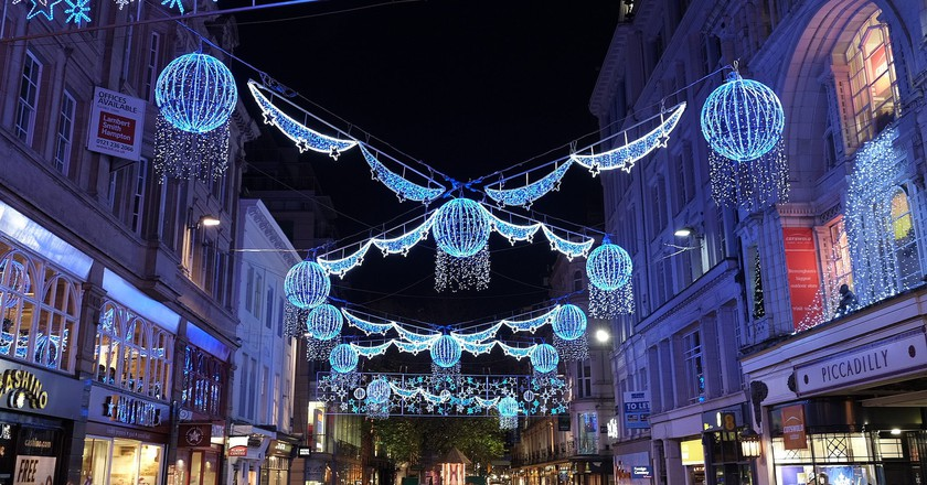 Birmingham Christmas lights | © Andrew Stawarz/Flickr