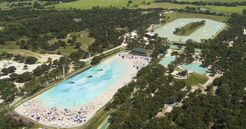 Surf Fans Can Hit the Waves in the Centre of Texas