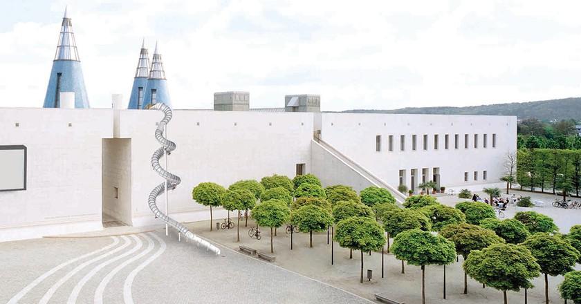 Detail of Carsten Höller, Bonn Slide, 2018 | VG Bild-Kunst, Bonn 2017