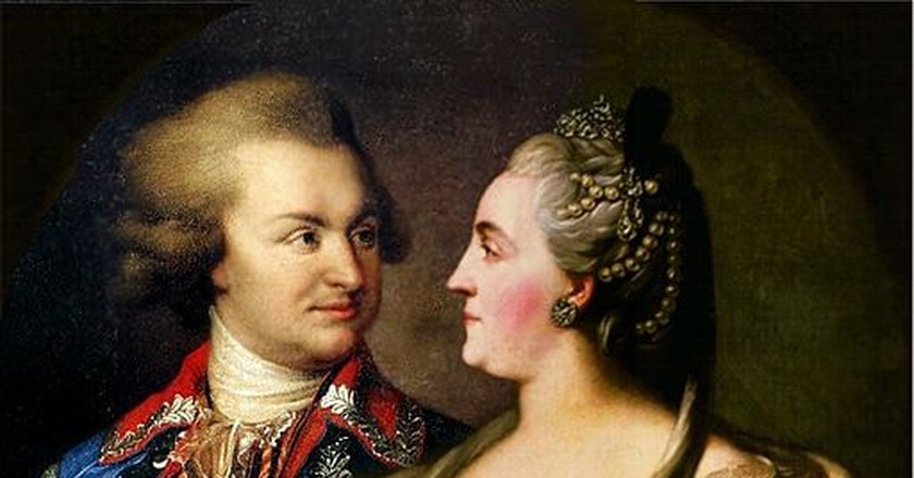 Catherine II and Potemkin|©Public Domain/WikiCommons
