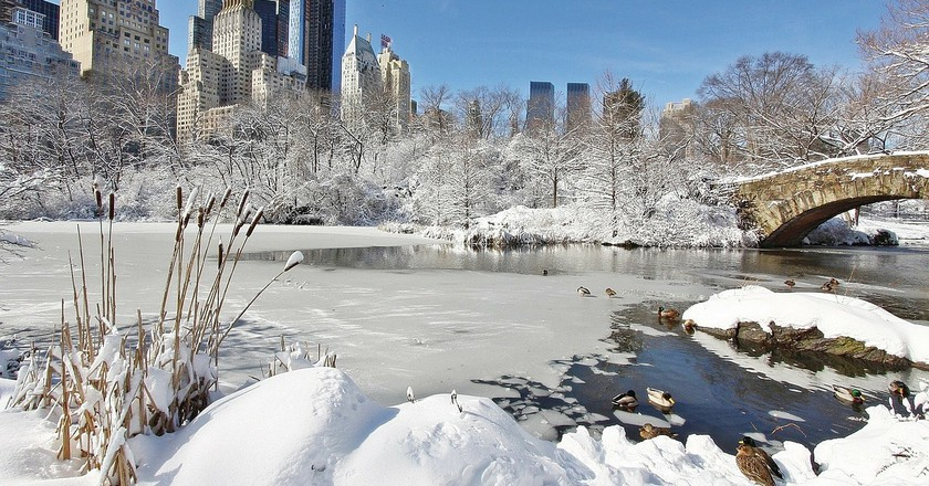 Cold weather in New York doesn't mean a colder climate the world over   © Pixabay