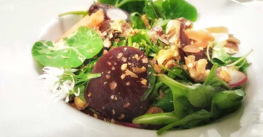 A vegetarian dish at Croi Restaurants   © Croi Restaurant