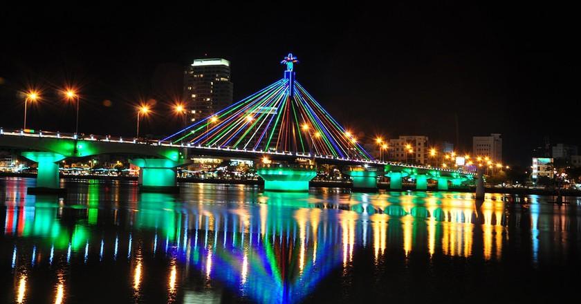 Danang's colorful bridges